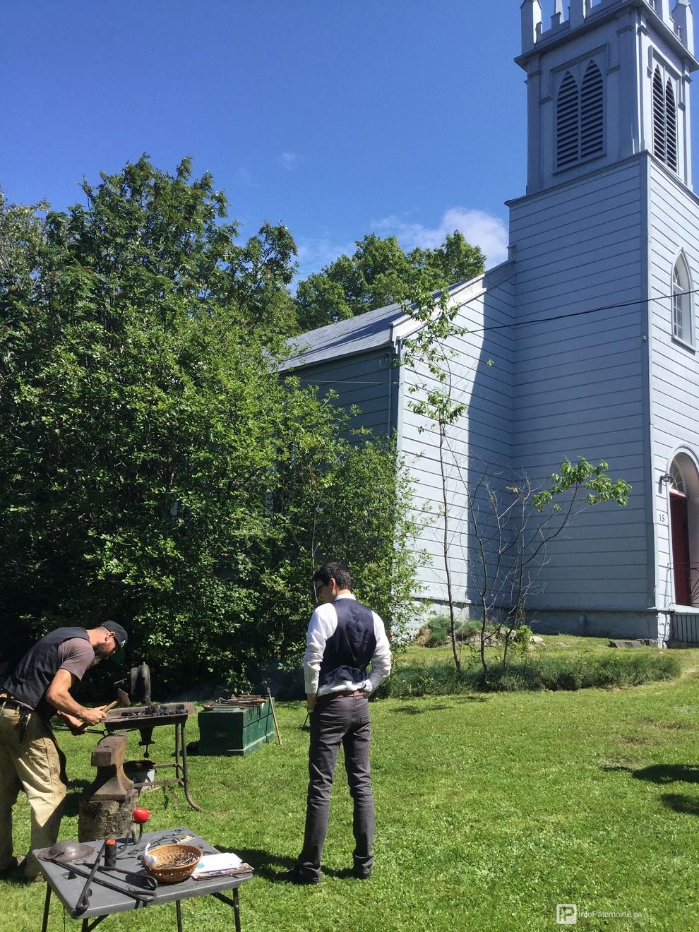 Forge du barbu, savoir-faire, chapelle st-bartholomew (Auteur : Ville RDL)