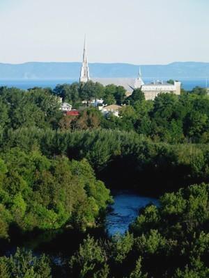 rivière du Loup, patrimoine naturel, rivière, parc des chutes (Auteur : Ville RDL)