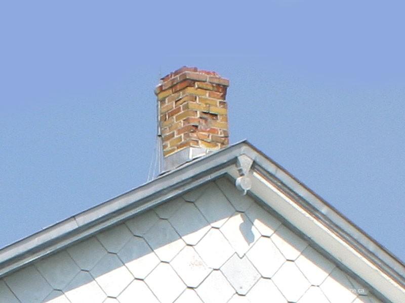 Guide : Les souches de cheminées, brique (Maison Massé-Saint-Hubert)