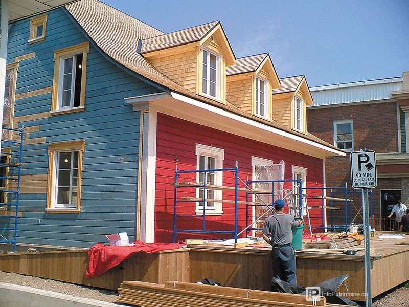 Guide : Restaurer une façade commerciale (Lafontaine, Rivière-du-Loup) (Auteur : Ville de Rivière-du-Loup)