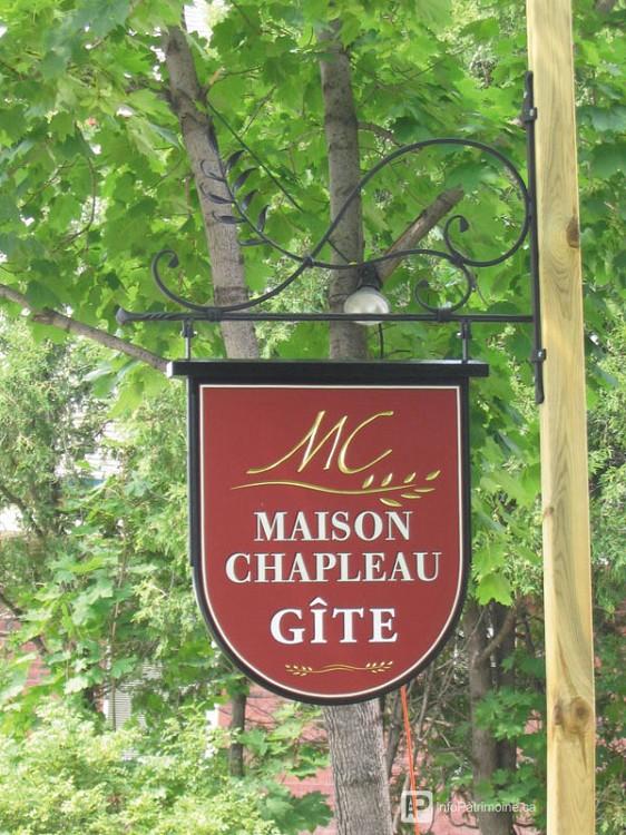 Guide : L'affichage commerciale, enseigne (595 Saint-Pascal)